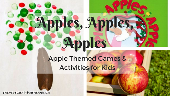apple activities for kids
