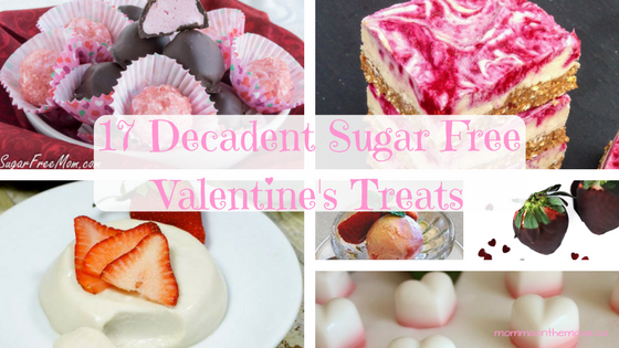 sugar free valentines treats