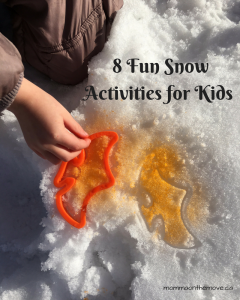 Blog custom Snow Activities for Kids