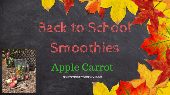 back to school smoothies