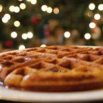 christmas waffles 1