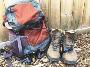 essential oils for hiking